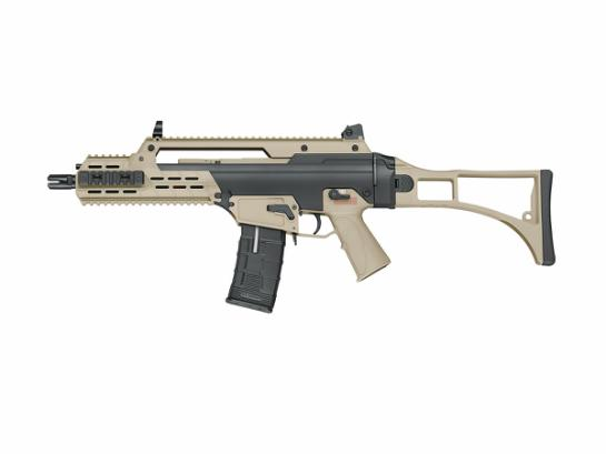 Airsoftrifle, AEG, PL, AARF (Two Tone  -BK&TAN)