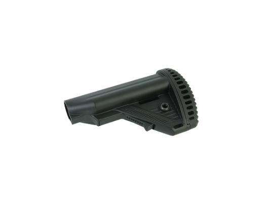 Retractable stock MTR S1 for stock tube - black
