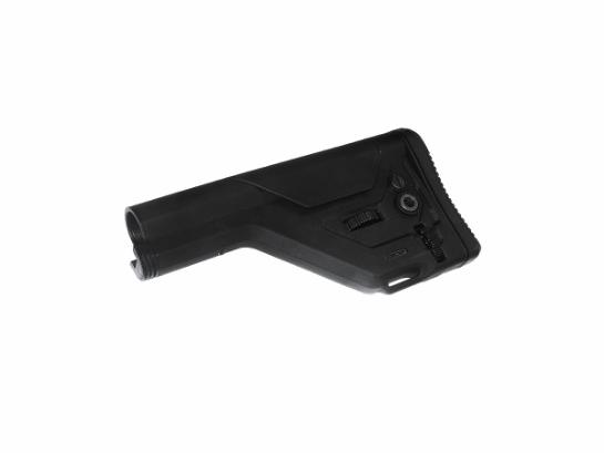 Retractable stock UKSR for stock tube - Black