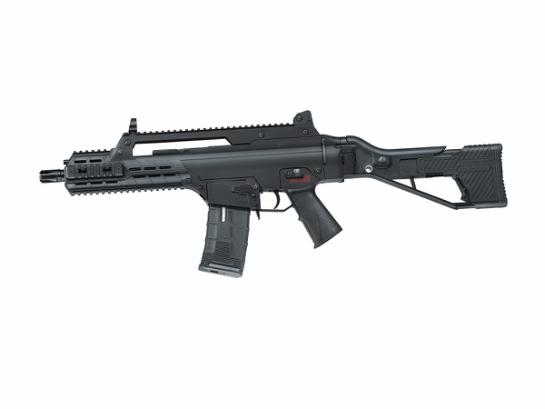 ICS AAR Compact Assault Rifle BK - Low Power