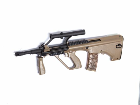 Semi-Airsoftrifle Steyr AUG A1, Proline, Short, Tan