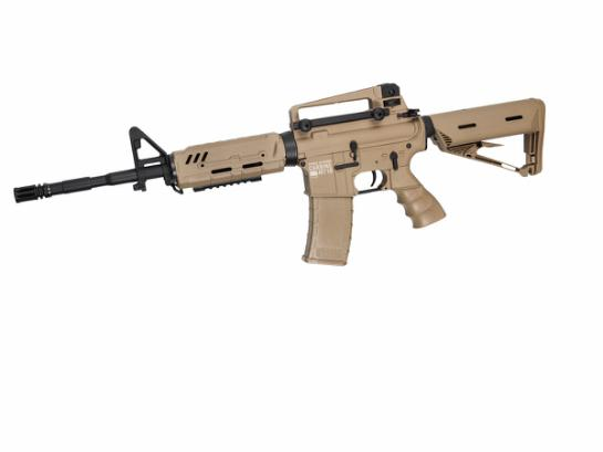 Semi-Airsoftrifle Carbine MT18 Tan