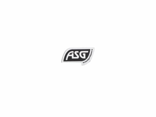 ASG Patch with Velcro, Black
