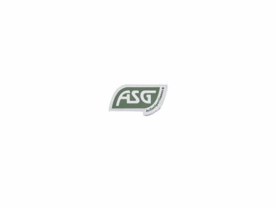 ASG Patch with Velcro, Green
