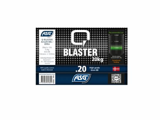 Q-Blaster BB 0.20g, 20kg bulk in box